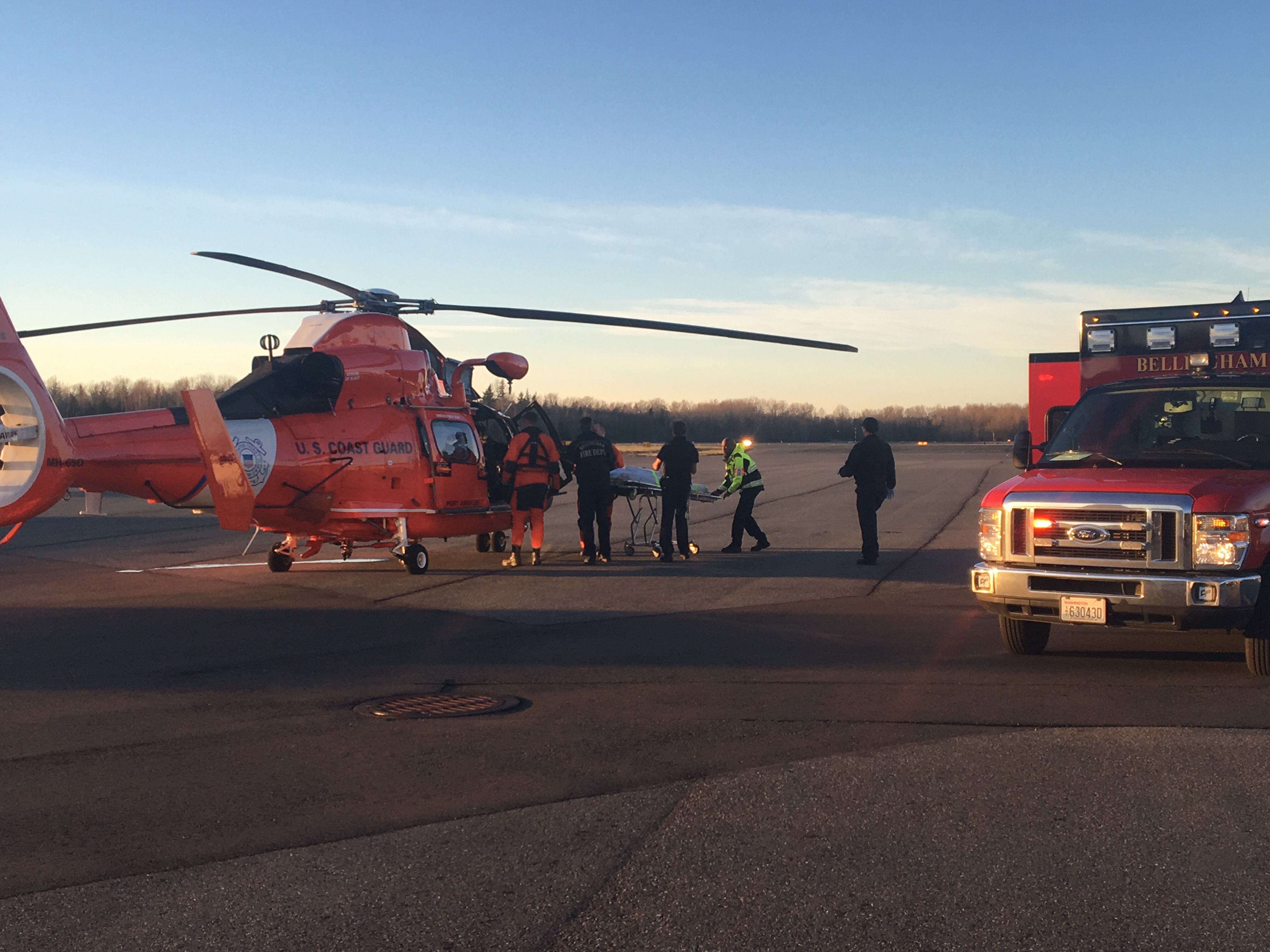 Coast Guard Rescue Helicopter - Jeff Lustick Reporter